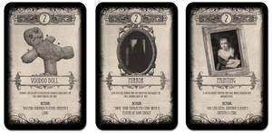 The Damned Children: Card Game! - Artefacts
