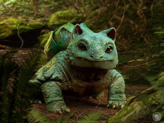 Bulbasaur by JoshuaDunlop