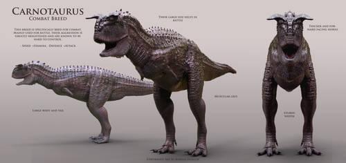Combat Carnotaurus