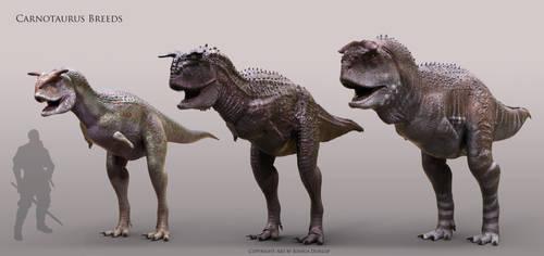 Carnotaurus Breeds