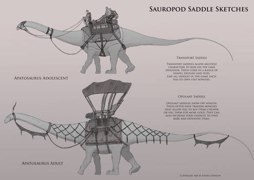 Sauropod Saddles