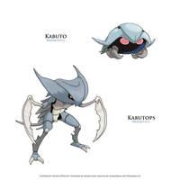 Fakemon - Equian Kabuto and Kabutops
