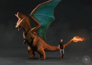 Charizard - size comparison