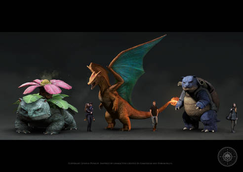 All starters size comparison (for print)