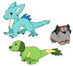 Pokemon- Fake- Starters