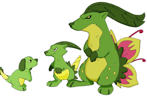 pokemon leaf green how to get all three starter pokemon