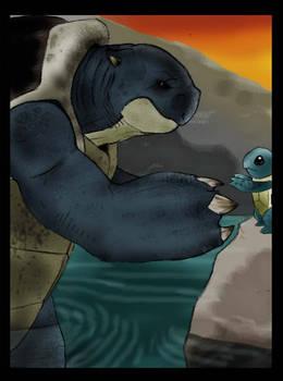The Gentle Giants- pokemon evo