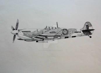 Supermarine Spitfire by EisenfaustArts
