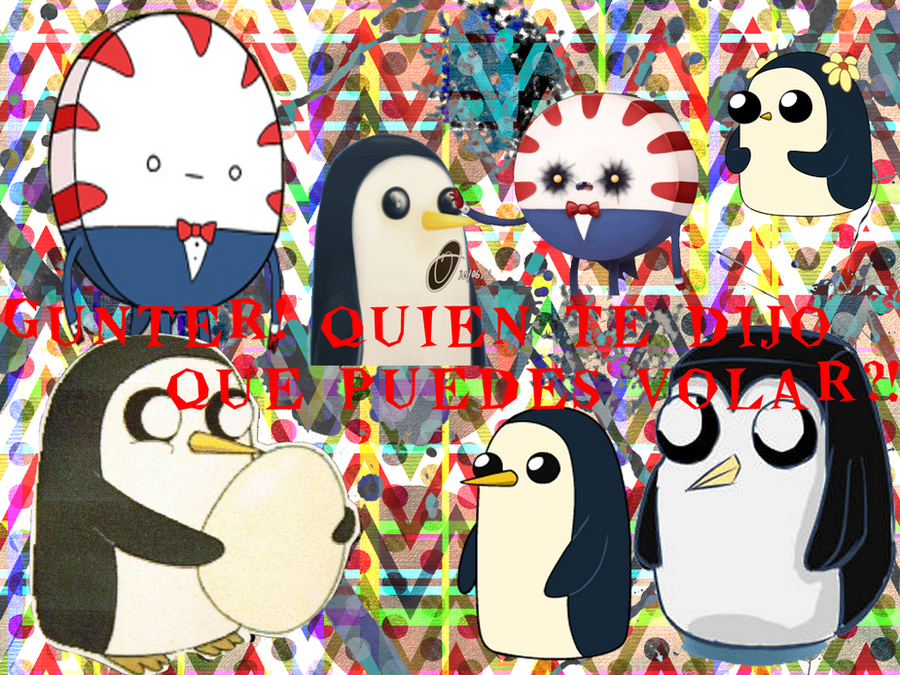 wallpaper mentita y gunter by LunePotter