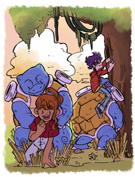 :PG: Team Squirtle by LunePotter
