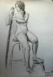 Nude - Desnudo II by zetsubou-akane