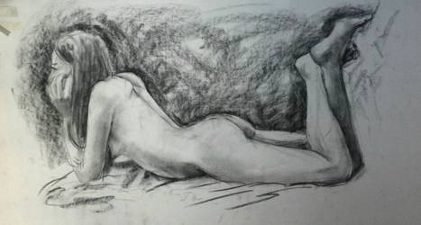 Nude - Desnudo IV by zetsubou-akane