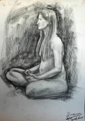 Nude - Desnudo VI by zetsubou-akane