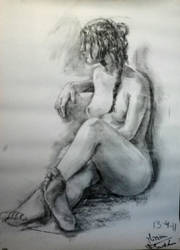 Nude - Desnudo VII by zetsubou-akane