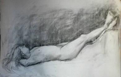 Nude - Desnudo VIII by zetsubou-akane