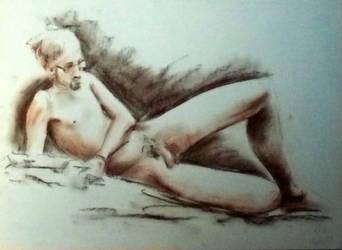 Nude - Desnudo XI by zetsubou-akane