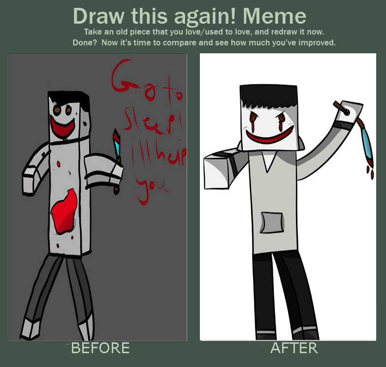redraw jeff the killer - photo #15