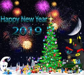 Happy New Year 2019 by IDFRSS