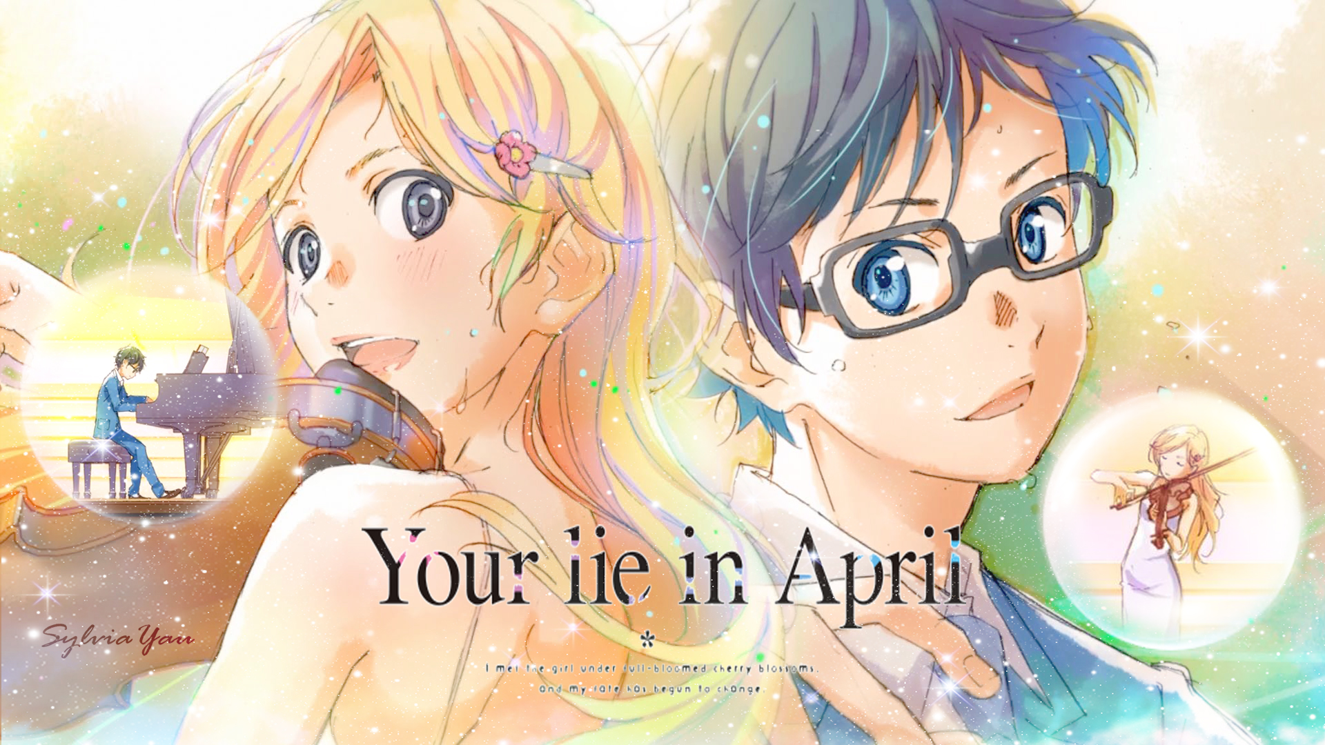 Your Lie In April Wallpaper by sylviayau on DeviantArt