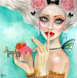 Marie Antoinette Cupcake Queen by Iluvfaeries