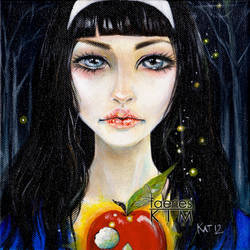 Snow White and the bad apple by Iluvfaeries