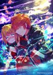 Comm : Code08kira - Kira x Luca