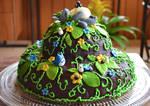 Totoro Cake by DoodleDuo