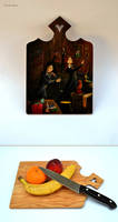 Potion Class of 70's: Harry Potter cutting board by DoodleDuo