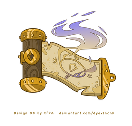 Commission - PROTECTION SCROLL