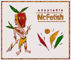 [OPEN] Adopt+Item Auction - MR. FETISH (card 1/5)
