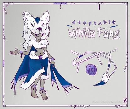 [OPEN] Adopt+Item Auction - WHITE FANG (card 2/5)