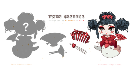 [OPEN] Collaboration Adopts Auction - TWIN SISTERS
