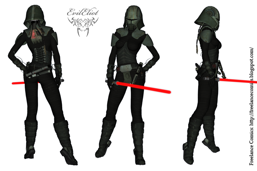 Sith Hoth Armor Female 001 By Evileliot On Deviantart