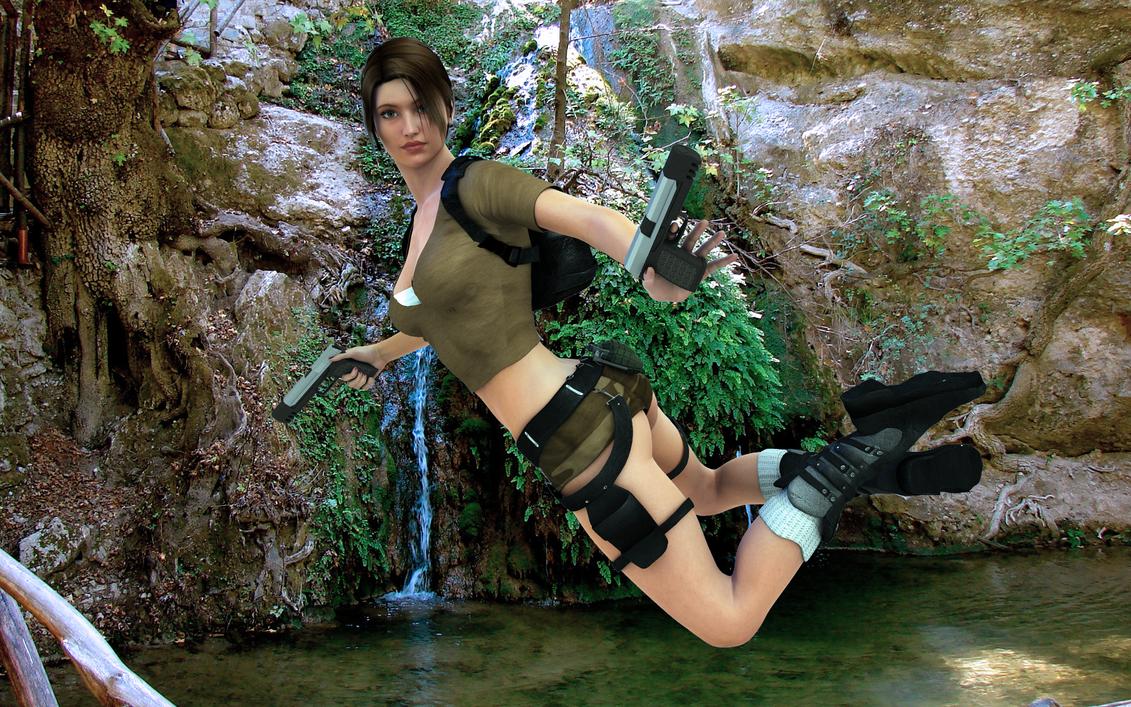 Lara croft 3d hd smut movies