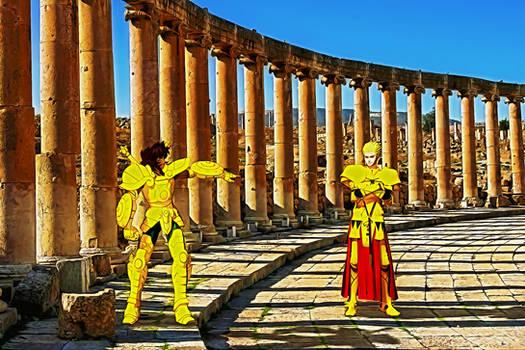 Dohko vs Gilgamesh 001