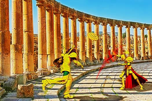 Dohko vs Gilgamesh 002