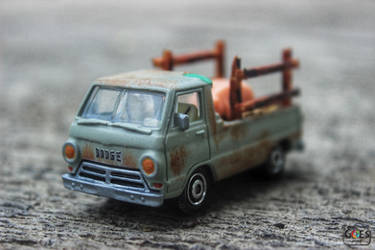 Custom Matchbox Dodge A100 by bagoestm