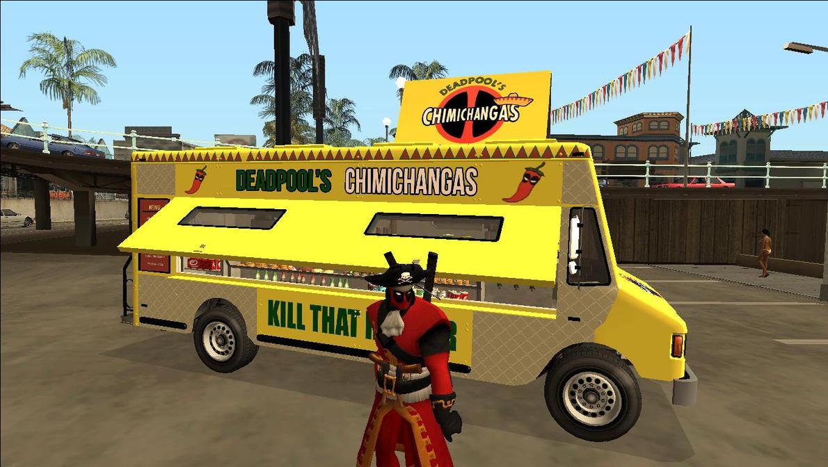 Pop Shop Food Truck