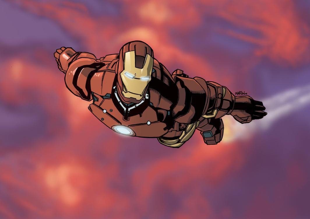 Iron Man Colours by 7-Matt