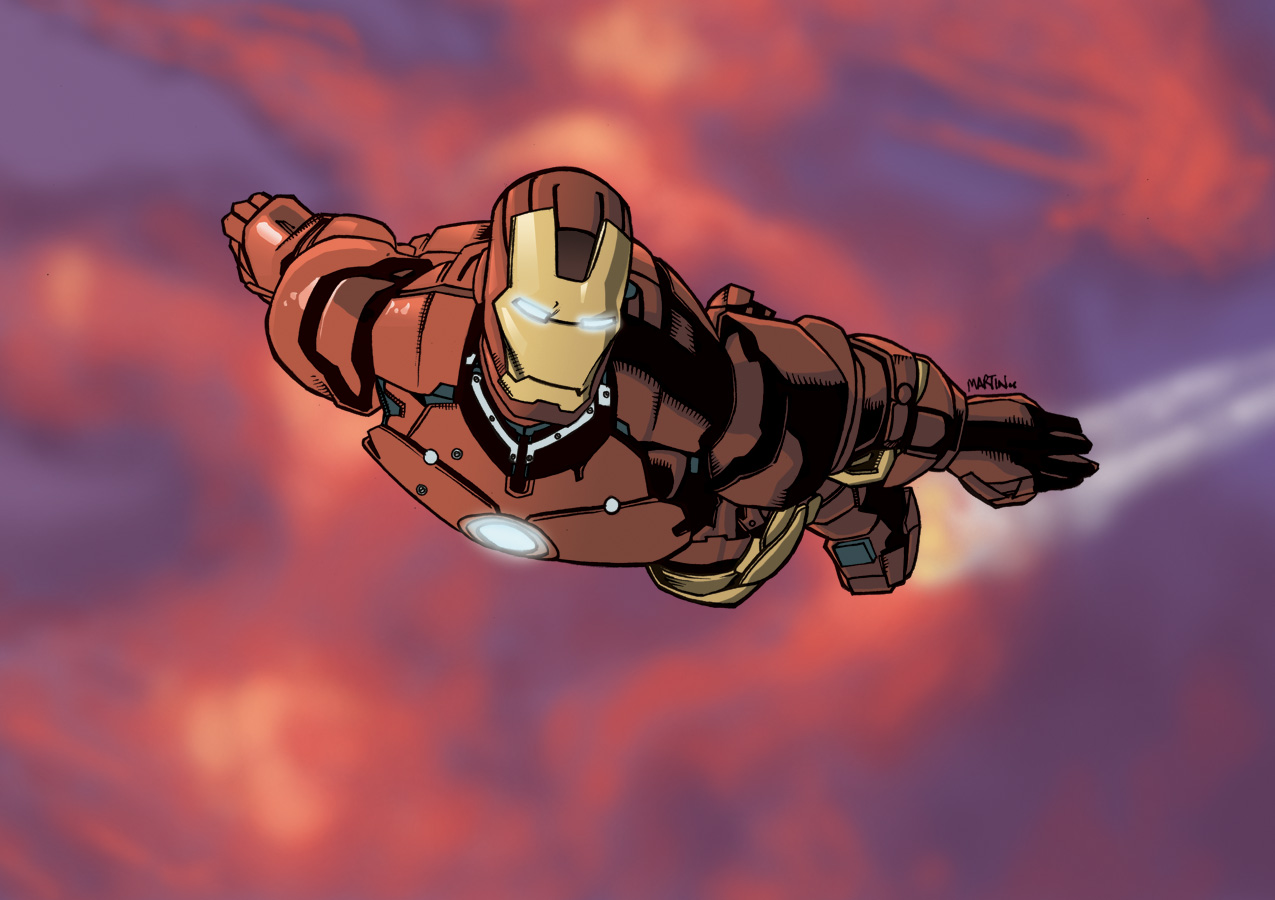 Iron Man Colours by 7-Matt