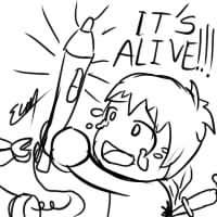 It's Alive!!! (Genius Len) by Evan-Harrey