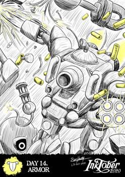 Inktober 2020 - Day 14. Armor