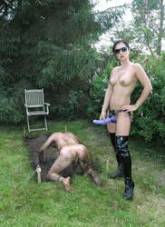 My slave tryouts by Quicksandgoddess