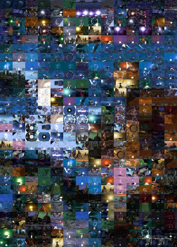Freelancer screenshot-mosaic by gpsc