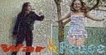 War and Peace mosaic