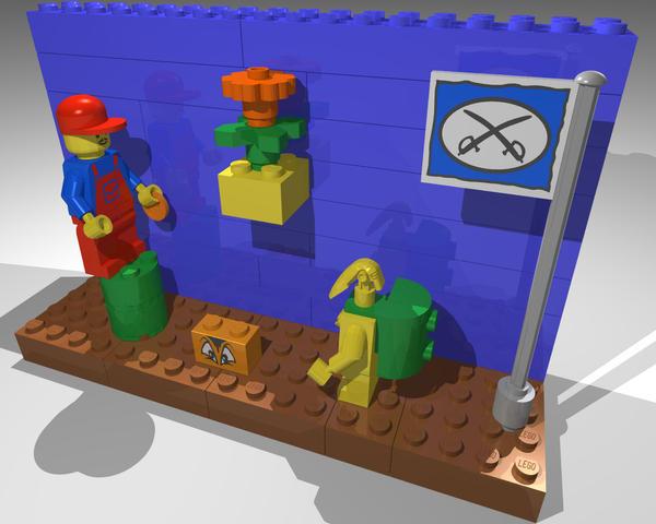 Super Mario Legos 1 by gpsc