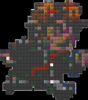 Braid Lego Mosaic