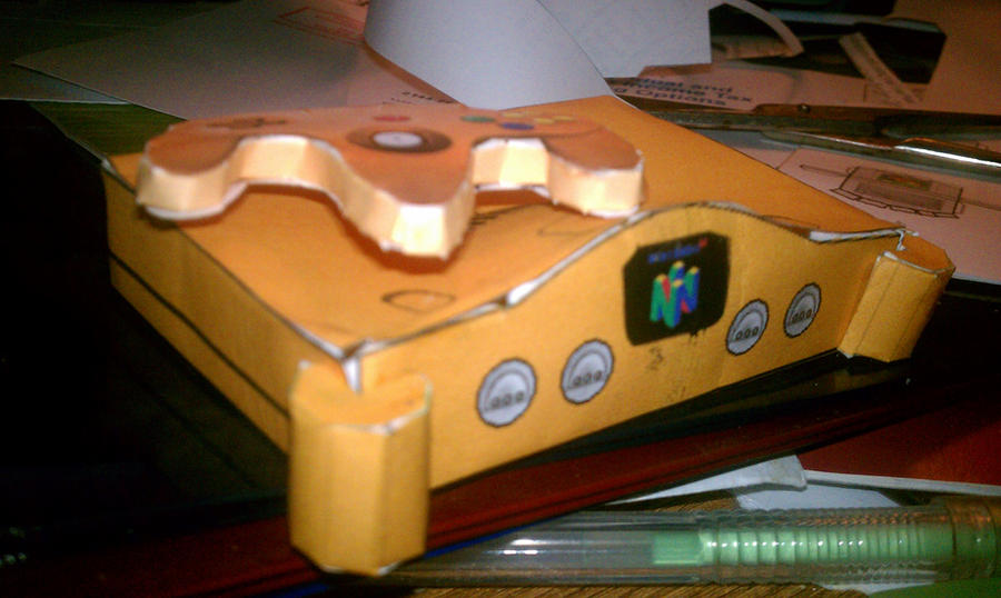 N64 Papercraft by gpsc