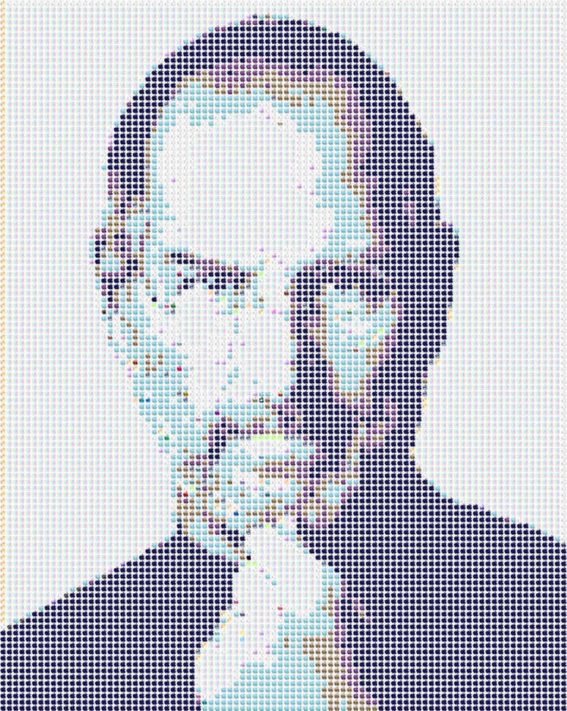 Steve Jobs Applemosaic by gpsc