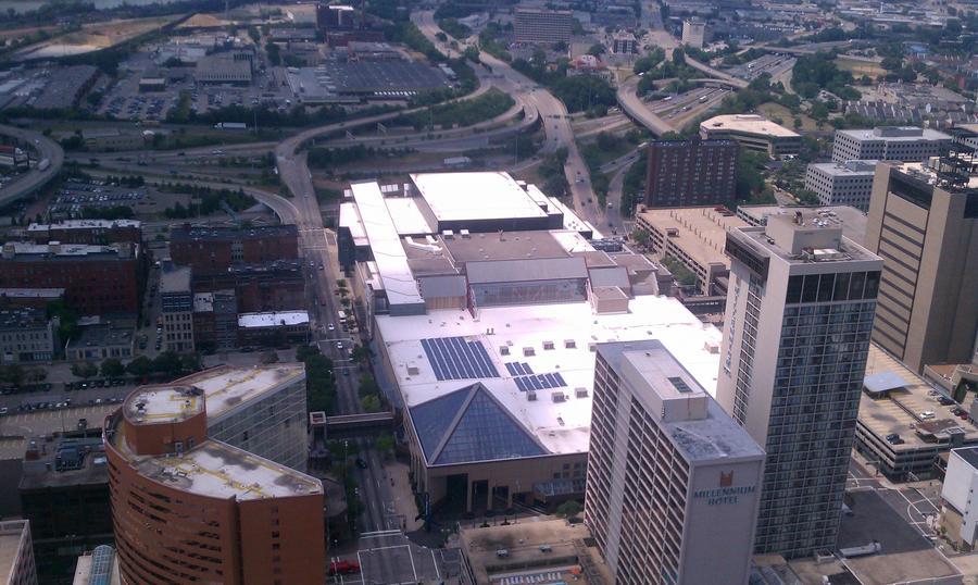 Cincinnati Cityscape 2 by gpsc